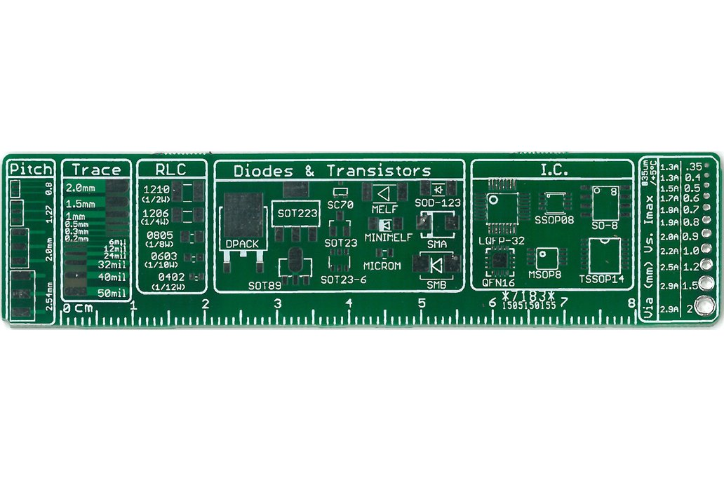The Ultimate PCB ruler 2