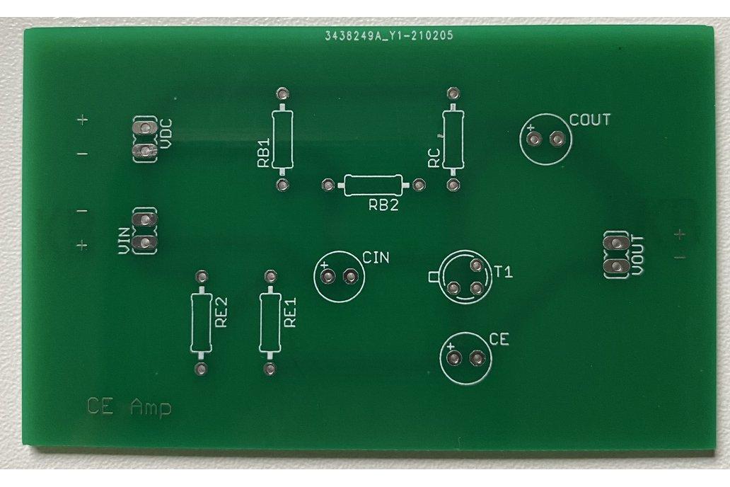 Common Emitter Transistor Amplifier 1