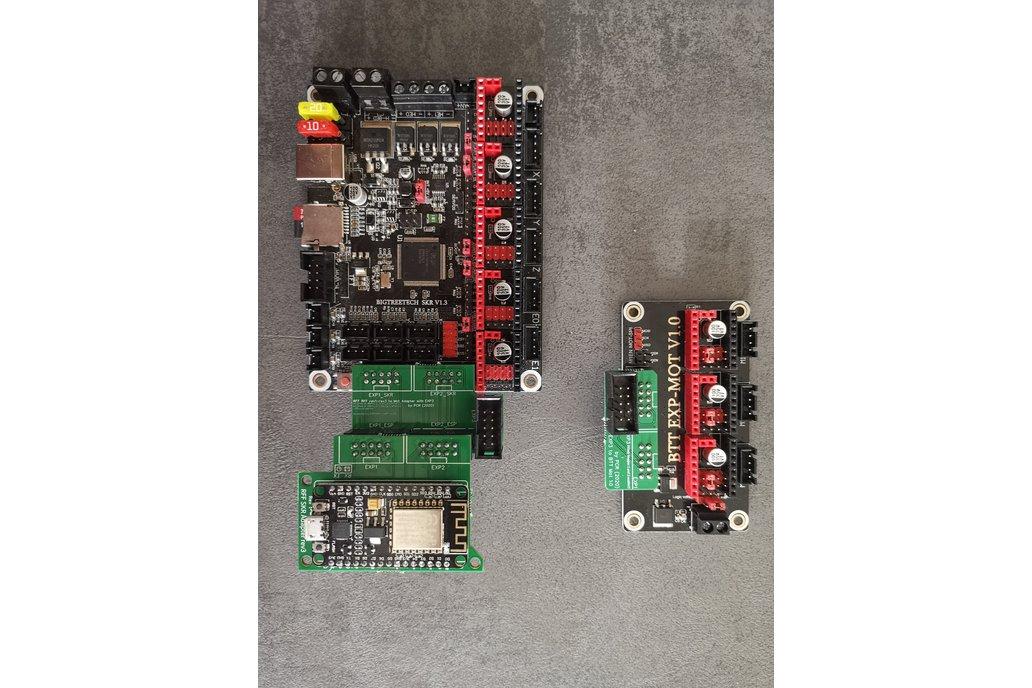 RRF BTT Mot EXP Adapter for SKR 1.x 1