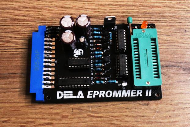 DELA EPROMMER II for C64 - EPROM Programmer