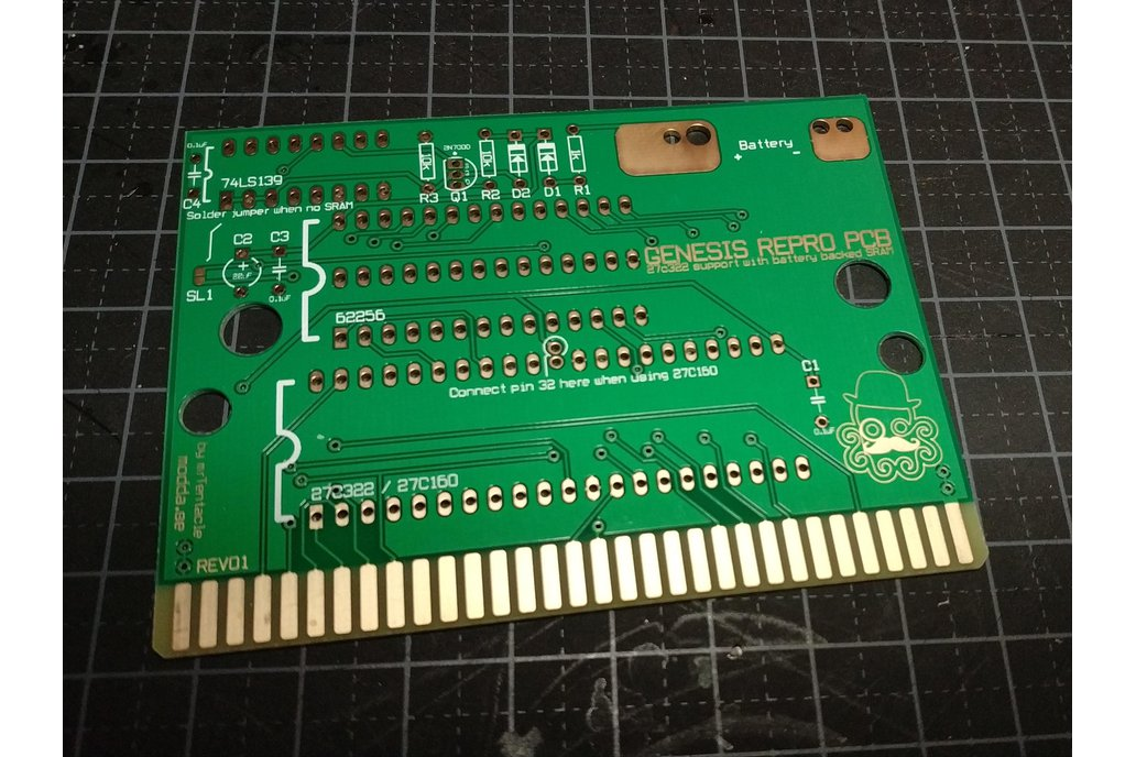 Genesis repro PCB build your own carts! 1