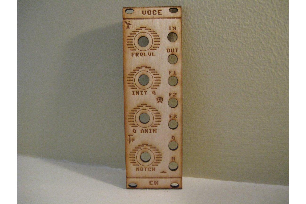 """VOCE"" Eurorack-compatible Vocal Filter Module PCB"