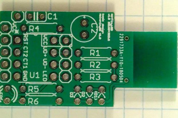 N64TinyUSB v1 (PCB only)