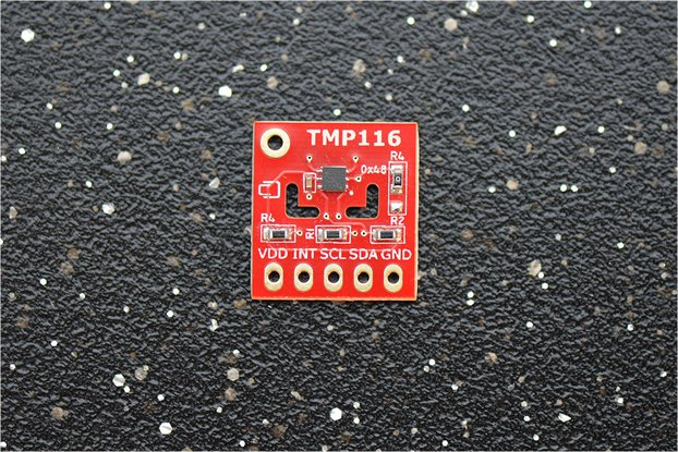 TMP116 ±0.2°C (–10°C..+85°C)  Temperature Sensor