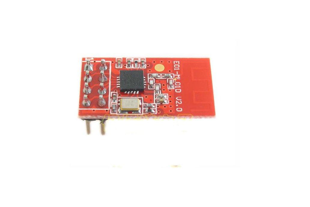 2pc nRF24L01 + 2.4G wireless transceiver module 1