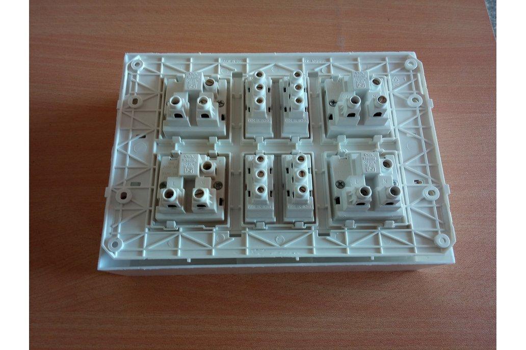 Node MCU ESP32 WIFI board 4 Relay iot with casee 9
