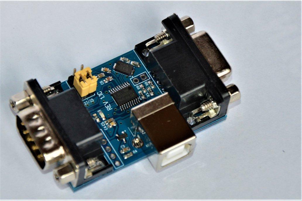 Logitech G25/G27 shifter/pedals USB adapter 1