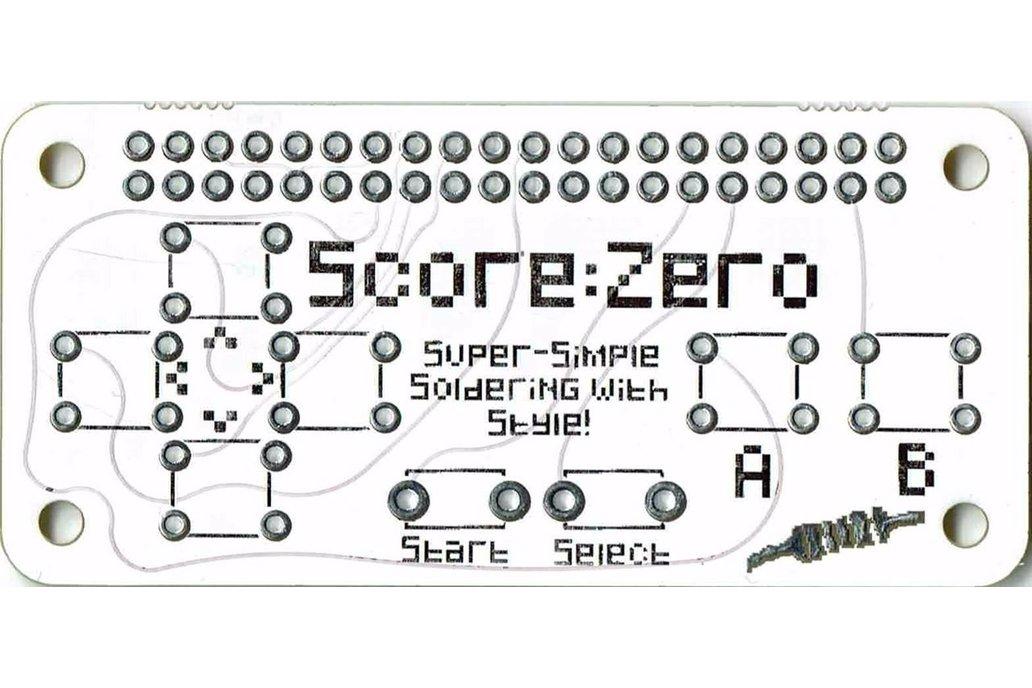 Score:Zero pHAT for Raspberry Pi 2