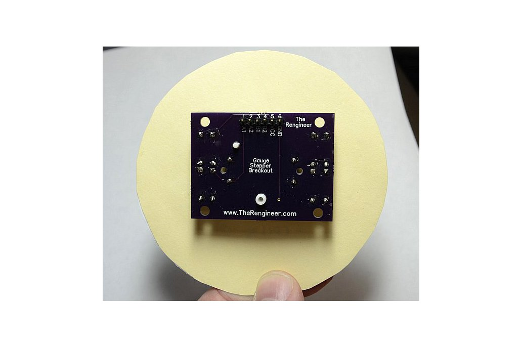 Analog Gauge Stepper Breakout Board 5