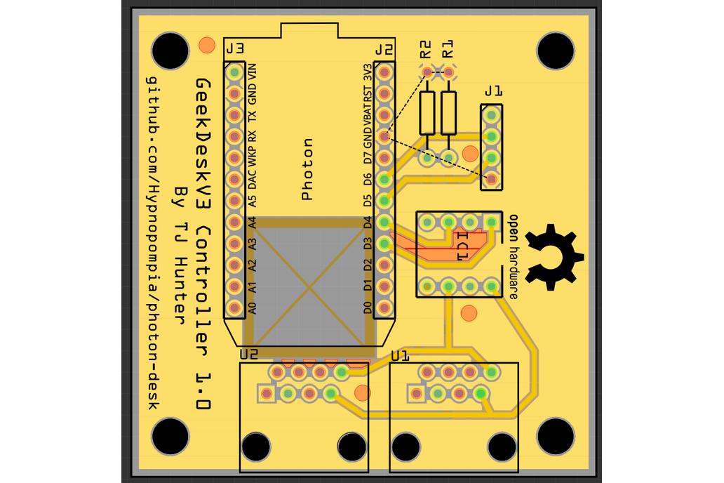 Photon Geekdesk Controller 3