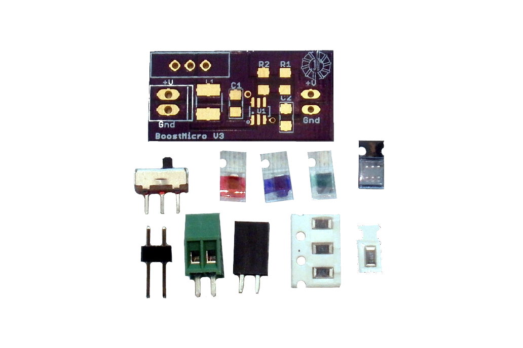 BoostMicro - 5 Volt Power Supply,  DIY Kit 1