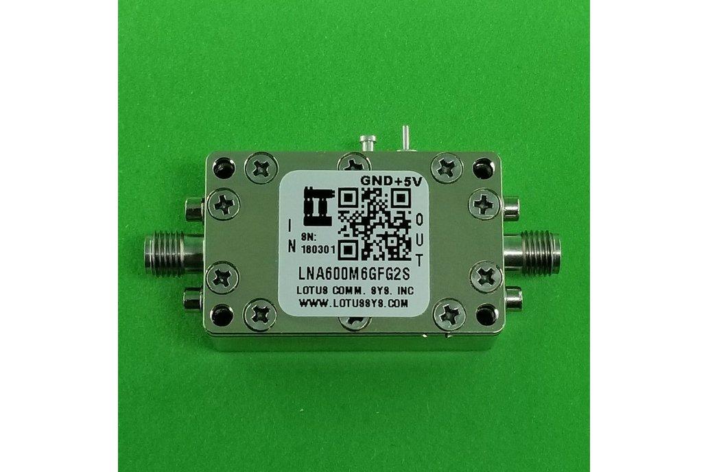 Amplifier LNA 0.9dB NF 600M~6000 MHz 39dB Gain 1