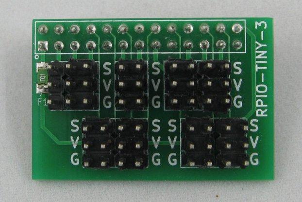 Raspberry Pi GVS I/O Card (RPIO-TINY-3)