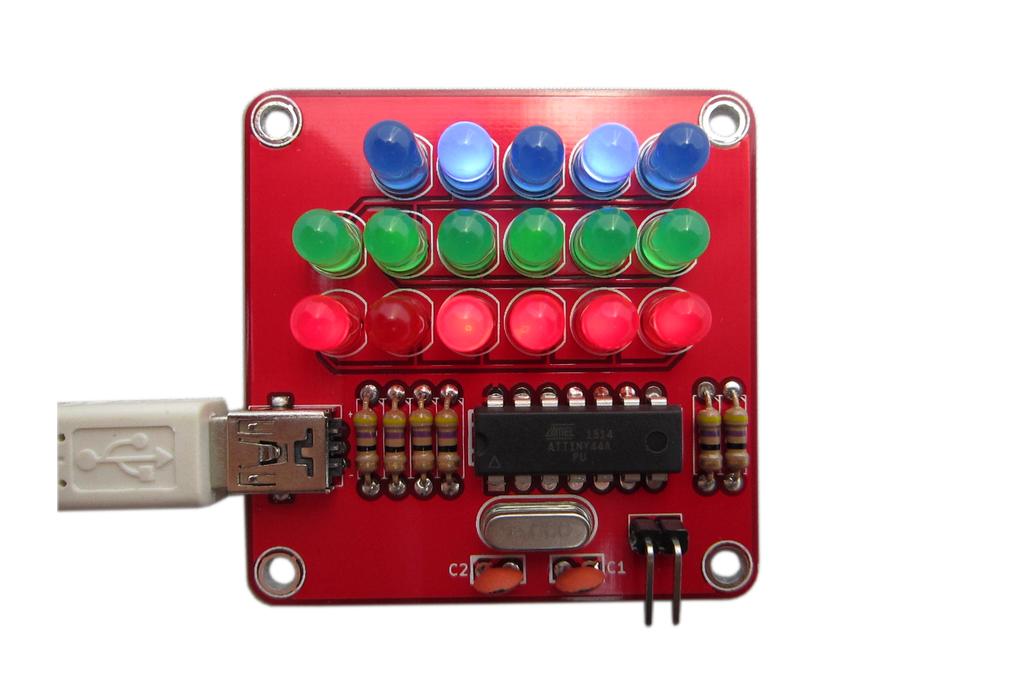Pure Binary Clock Kit 1