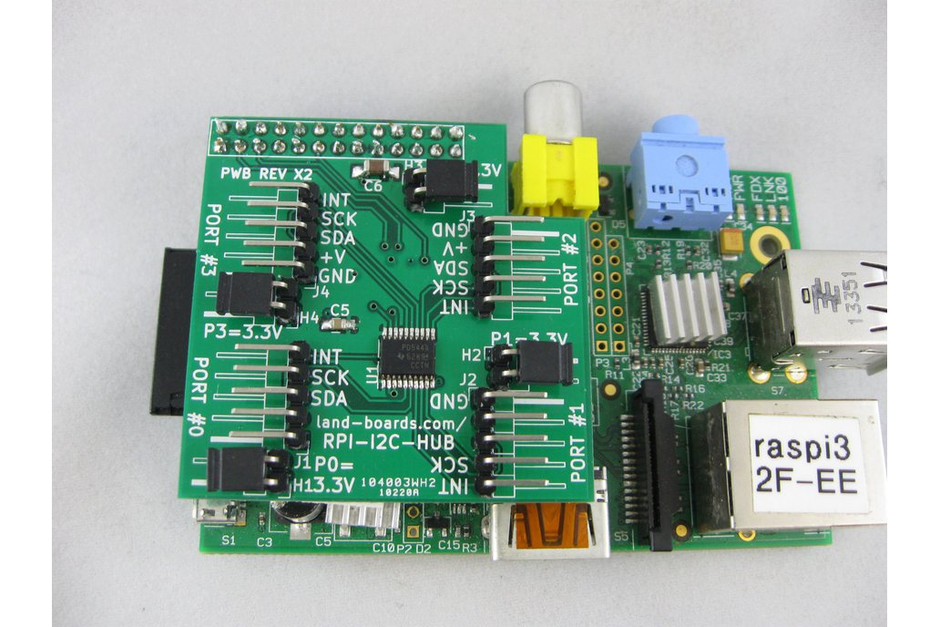 I2C Multiplexer for the Raspberry Pi (RPI-I2C-HUB) 1