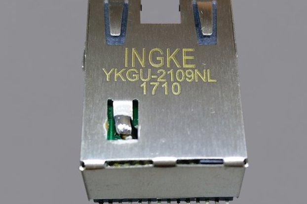 YKGU-2109NL RJ45 MagJack Connector